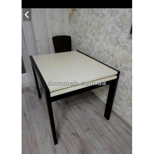 Стол раскладной Венге + Дсп белое