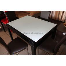 Стол раскладной венге стекло белое 9003