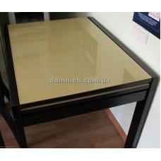 Стол раскладной венге стекло 1001 (беж)